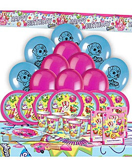 Shopkins Ultimate Party Kit for 16