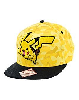 Pokemon Pikachu Snapback Cap