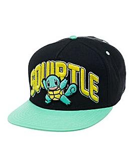 Pokemon Squirtle Snapback Cap