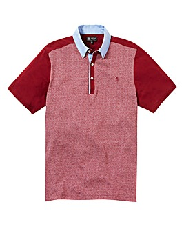 Black Label Jacquard Polo Long Length