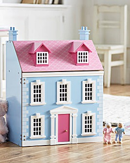 Wooden Georgian Dolls House
