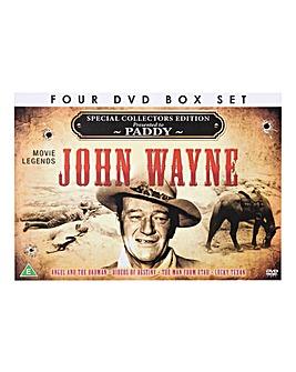 John Wayne 4 DVD Box Set Personalised