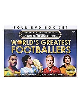 Greatest Footballers 4 DVD Box Set