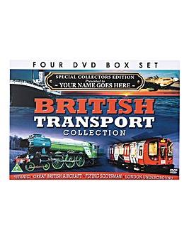 British Transport 4 DVD Box Set
