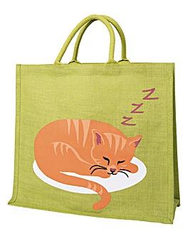Sleeping Cat Shopper