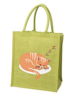 Sleeping Cat Bottle Bag