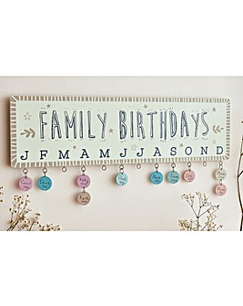 Birthday Plaque