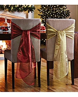 Chair Bows Set of 4