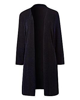 Blue/Black Glitter Kimono