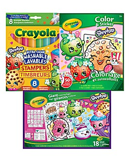 Crayola Shopkins Bundle