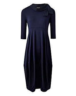James Lakeland Drape Hem Dress