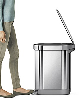 Simple Human Steel Slimline Pedal Bin