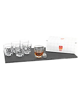 RCR Crystal Diamante Whisky Glasses
