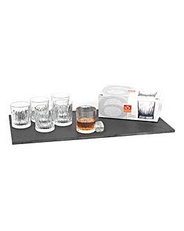Crystal Fire Glasses Set Of 6