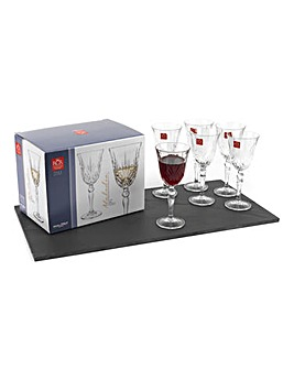 Melodia Wine Glasses Set Of 6