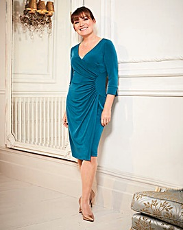 Lorraine Kelly Wrap Dress