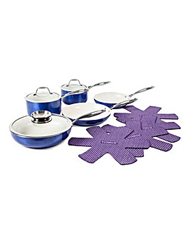Tower 9pc Cookware Set