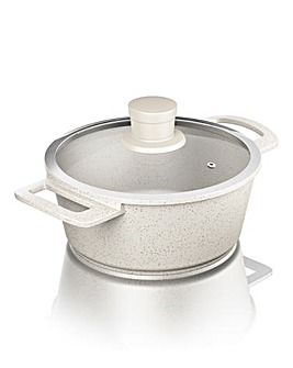 Tower 20cm Casserole Die Cast Almond