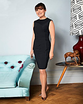 Lorraine Kelly Lace Insert Dress