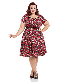 Voodoo Vixen Poppy Dress
