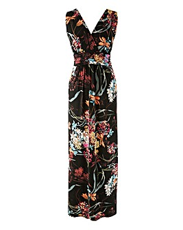 Grace Empire Line Floral Maxi Dress