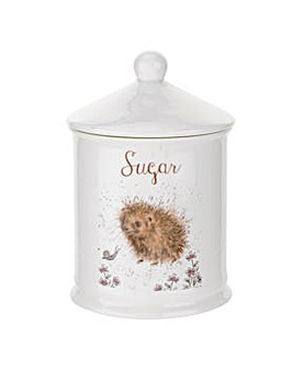 Wrendale - Sugar Canister (Hedgehog)