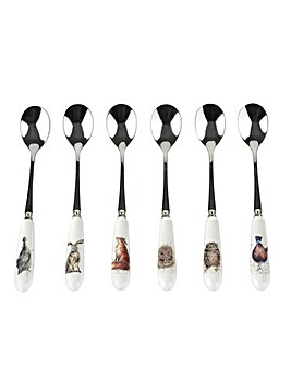 Wrendale - Tea Spoons S/6