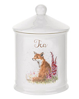 Wrendale - Tea Canister (Fox)