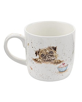 Wrendale - Pug Love Mug (Dog)