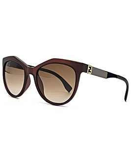 Fendi Geometric Cateye Sunglasses