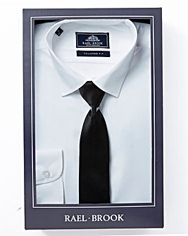 Rael Brook Tailored Fit Shirt With Tie
