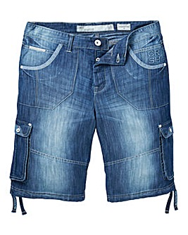 Crosshatch Kanaster Denim Short
