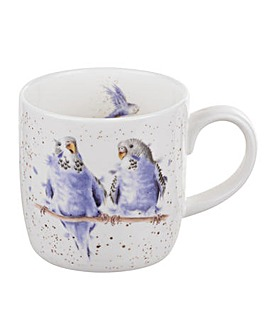 Wrendale - Date Night Mug (Budgie)