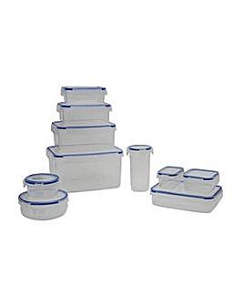 Addis 10 Piece Plastic Kitchen Storage