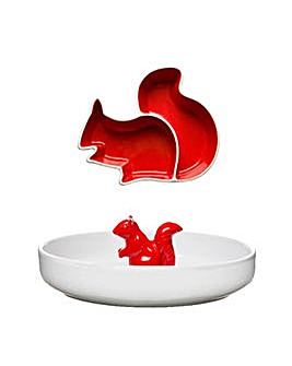 Sagaform Squirrel Serving Bowl & Plate