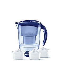 Brita Elemaris Blue Jug - 3 Cartridges