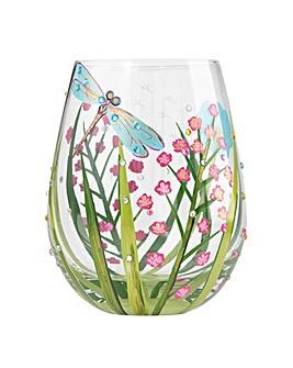 Lolita Dragonfly Stemless Wine Glass