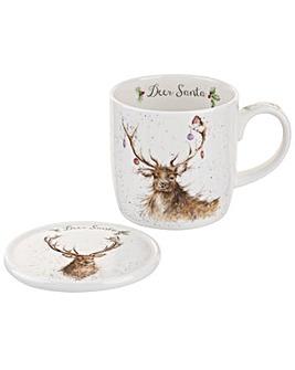 Wrendale Deer Santa (Deer)