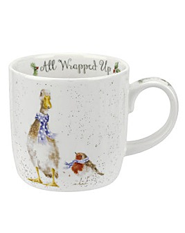 Wrendale All Wrapped Up (Duck) Mug