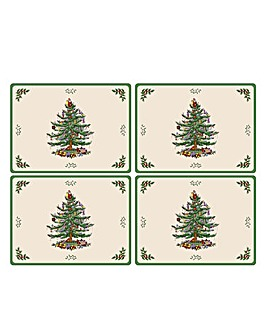 Christmas Tree Christmas Tree Placemats