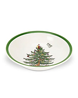 Christmas Tree 6 Inch Cereal Bowl x4