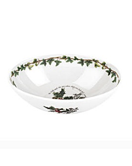 Holly & Ivy Oval Bowl