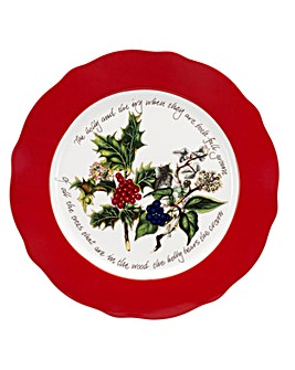 Holly & Ivy Charger Plate