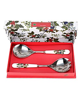 Holly & Ivy Salad Servers (pair)