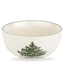 Christmas Tree Fruit Bowls x4