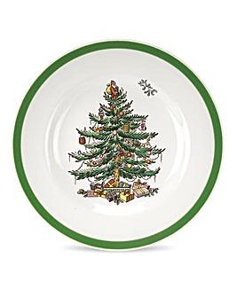 Christmas Tree 6 Inch Plate x4