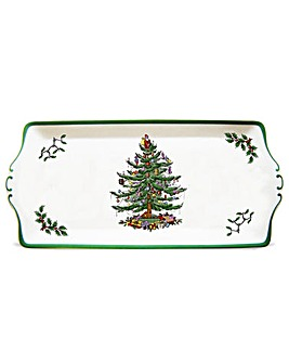 Christmas Tree Sandwich Tray