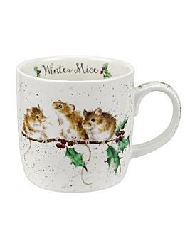 Wrendale Winter Mice (Mice) Mug