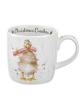 Wrendale Christmas Cracker Mug