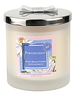 Portmeirion WhiteWaterlily 2 Wick Candle